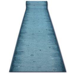 дебел килим бегач противоплъзгаща основа GABBEH тюркоаз ацтеките етнически