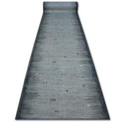 дебел килим бегач противоплъзгаща основа GABBEH сиво ацтеките етнически