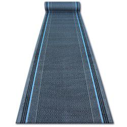 дебел килим бегач противоплъзгаща основа JURA сиво ромбоиди