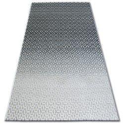 Килим LISBOA 27208/356 релефен черно сиво