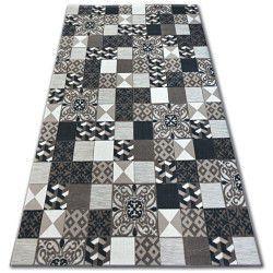 Килим LISBOA 27218/985 керамична мозайка кафяво португалски стил