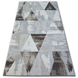 Килим LISBOA 27216/655 триъгълници кафяв