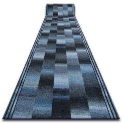 дебел килим бегач противоплъзгаща основа IKAT сиво