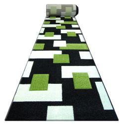 килим бегач HEAT-SET FRYZ PILLY – 7778 черно зелено