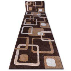 килим бегач HEAT-SET FRYZ FOCUS – F240 венге кафяво какао