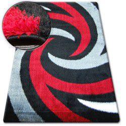 Килим SHAGGY VERONA B058 черно/червено