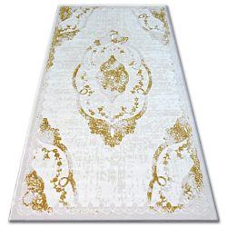 Килим AKRYL BEYAZIT 1800 C. слонова кост/злато