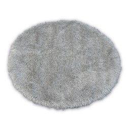 Килим LOVE SHAGGY кръг модел 93600 сребро