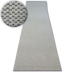килим бегач SIZAL FLOORLUX модел 20433 сребърен гладък