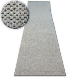 килим бегач SIZAL FLOORLUX модел 20433 сребро гладък