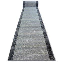 килим бегач BCF BASE 3945 ивици сиво ивици