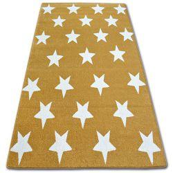 Килим SKETCH – FA68 злато/екрю – звезди