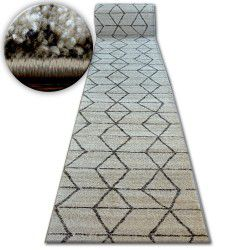 килим бегач SHADOW 818 екрю/ l. бежов - триъгълници