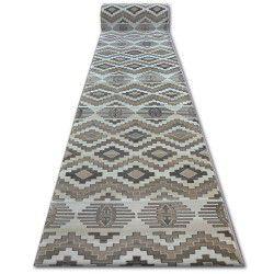 килим бегач ARGENT - W4809 ромб бежов