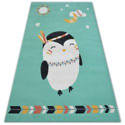 Килим PASTEL 18401/043 – пингвин зелено