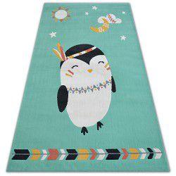 Килим PASTEL 18401/043 – пингвинче зелено