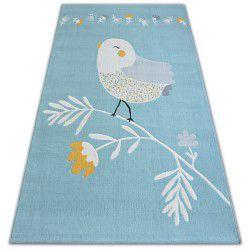 Килим PASTEL 18404/032 – птица синьо