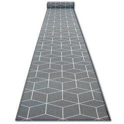 килим бегач противоплъзгаща основа SKY сиво шестоъгълник