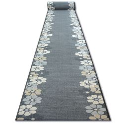 килим бегач противоплъзгаща основа SKY сиво MARGARETKA