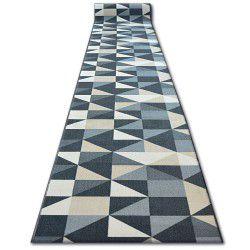 Пътеки противоплъзгаща основа SKY сиво триъгълнициS