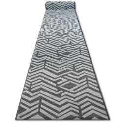 килим бегач противоплъзгаща основа SKY сиво FIR