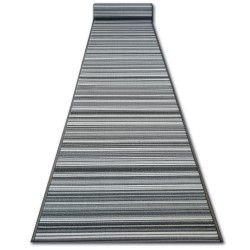килим бегач противоплъзгаща основа SKY сиво LINES