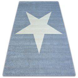 Килим NORDIC звезда сив/екрюG4581