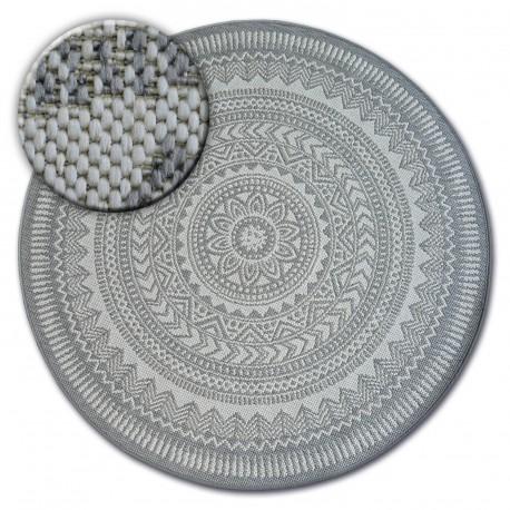 Килим кръг канап SIZAL FLAT 48695/637 стъклопис