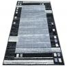 Dywan BCF BASE CHASSIS 3881 RAMKA szary/czarny