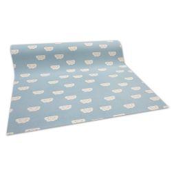 против подхлъзване мокети килим за деца CLOUDS синьо