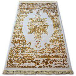 Килим AKRYL MANYAS 192AA слонова кост/злато пискюли