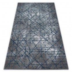 Килим AKRYL VALENCIA 3949 INDUSTRIAL сиво/синьо