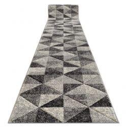 Пътека FEEL 5672/16811 Триъгълници сиво/антрацит/сметана