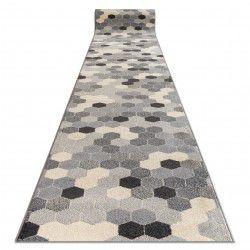 Пътеки HEOS 78537 сиво/сметана шестоъгълник