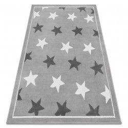 Килим BCF ANNA Stars 3105 звезди сивo / тъмно сив