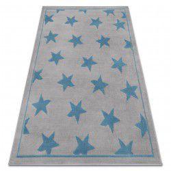 Килим BCF ANNA Stars 3105 звезди сивo / син