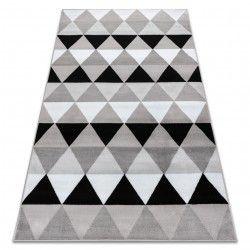 Килим BCF ANNA Triangles 2965 триъгълници сив