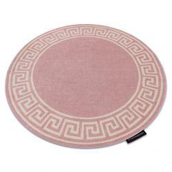 Килим HAMPTON Grecos кръг розово