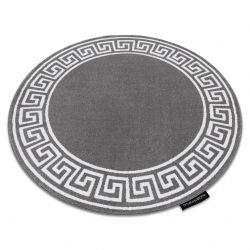 Килим HAMPTON Grecos кръг сиво