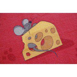 мокети килим мишка червен