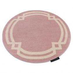 Килим HAMPTON Lux кръг розово