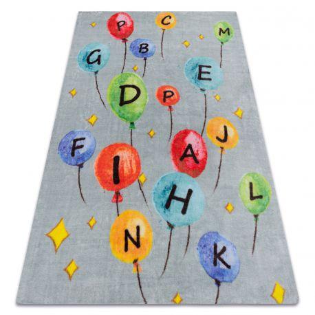 Килим PLAY балони писма азбука G3548-6 сив