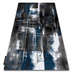 Килим INTERO ART 3D абстракция син
