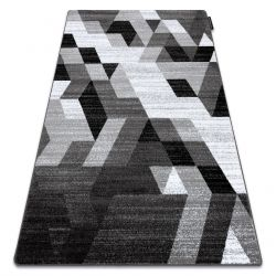 Килим INTERO TECHNIC 3D диаманти триъгълници сив