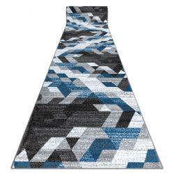 Пътека INTERO TECHNIC 3D диаманти триъгълници син