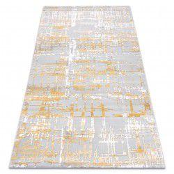 Килим AKRYL DIZAYN 122 жълт / светло сив