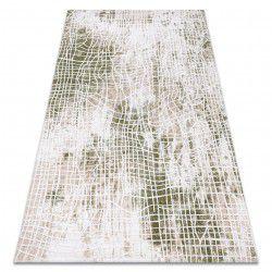 Килим AKRYL USKUP 9483 слонова кост / зелен