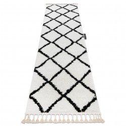 Килим, Пътека BERBER CROSS - бял - за кухнята или за коридора