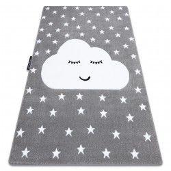 Килим PETIT облак звезда сиво