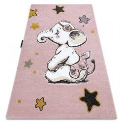 Килим PETIT ELEPHANT СЛОН звезда розов